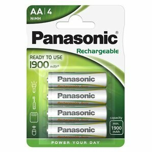 Batteries LR6 rechargeables AA-HR6