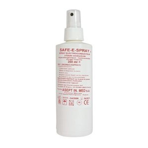 Spray ECG Safe E Spray Asept flacon pulvérisateur 250 ml (Lot de 25 flacons)
