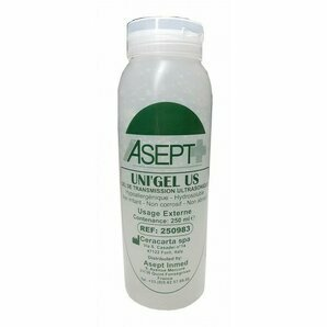 Gel de contact transparent Asept 250ml (à l'unité)